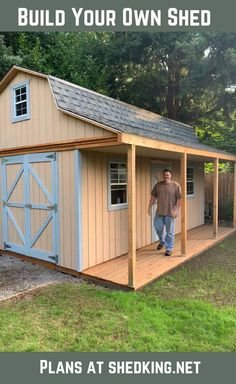 Visit our library of pictures of sheds built from our shed plans. Get great shed design ideas and plans for storage sheds, garden sheds and more.