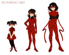 Ladynoir OTP Hell — arcanabreak:   A Ladybug's stages. I also have...