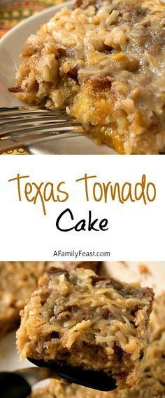 Texas Tornado Cake