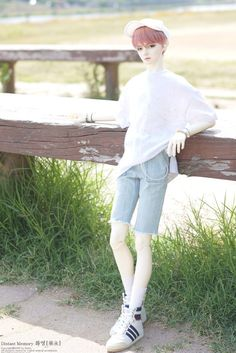 """Limited """"Hwayoung"""" and his around 65cm size, Skin color-White or Normal skin by NOBILITY DOLL-DOLL http://dolkus.com/detail.php?id=28182#h_cart"""