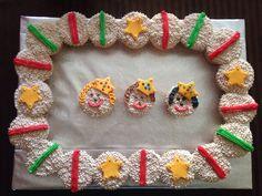 Rosca de kekitos Día de Reyes.