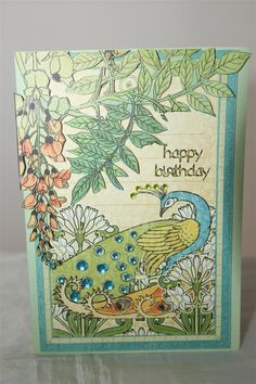 """Graphic 45 """"Artisan Style"""" Card #6 by Helen of Helen's Card Designs - Wendy Schultz ~ Cards 1."""