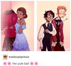 The yule ball Ron Weasley Hermione Granger and Viktor Krum Harry Potter Romione Mode Harry Potter, Harry Potter Comics, Arte Do Harry Potter, Harry Potter Drawings, Harry Potter Ships, Yer A Wizard Harry, Harry Potter Universal, Harry Potter Memes, Harry Potter World