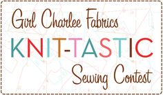 The Girl Charlee Fabrics Sweetheart Sewing Contest starts today! One lucky winner will receive a $75 Girl Charlee gift card. Read all the contest details and more on The Girl Charlee Blog :: http://blog.girlcharlee.com/2015/01/girl-charlee-fabrics-sweetheart-sewing.html Share your photos on social media using the hashtags #girlcharlee and #gcsewandwin. Good Luck!