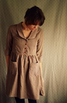The Artist by LetsBacktrack on Etsy, $88.00.    I could live in this outfit every day and be happy.