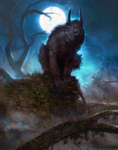 Werewolf by *brenthollowell on Deviantart