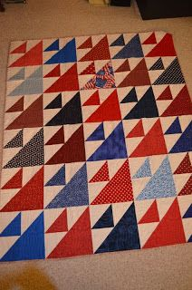 Alycia Quilts: Today's Quilt of Valor Show