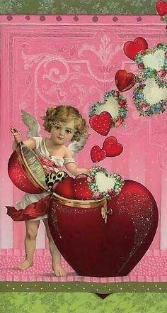 Vintage Valentine made in Germany Valentine Images, My Funny Valentine, Valentines Greetings, Vintage Valentine Cards, Saint Valentine, Vintage Greeting Cards, Vintage Holiday, Valentine Crafts, Valentine Day Cards