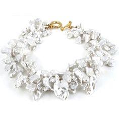 Calliope Pearl Wedding Necklace