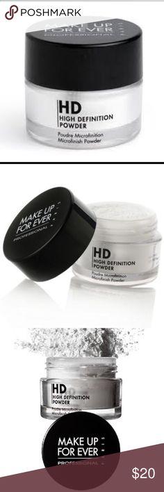 MAKE UP FOREVER HIGH DEFINITION POWDER MAKE UP FOREVER HIGH DEFINITION POWDER - used, but plenty of product left. Makeup Forever Makeup Face Powder