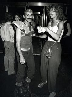 Credit: Ron Galella/WireImage September 1978: Joe Eula and Janet Butler at the re-opening of Studio 54