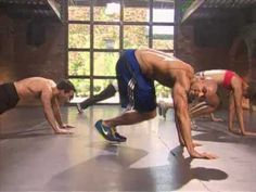 Insanity - Body Transformation in 60 Days (1 of 2) its Shaun T. The guy who created hiphop abs. Insane work out!