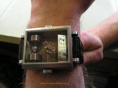 PuristSPro - The Thomas Prescher Mysterious Automatic Double Axis Tourbillon First pictures in the wild. Thomas had a problem: How to make the visibility of the tourbil