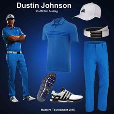Dustin Johnson Masters Outfit 2015 - Freitag