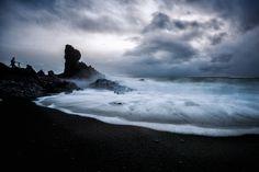 Black Sand Beach, Western Iceland   by diana_robinson