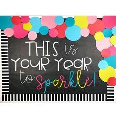 New Years Bulletin Board or Door