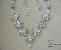 Snowflake necklace inspiration idea image