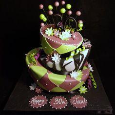 Beautiful 30th Birthday Cake Ideas
