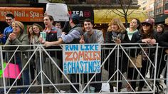 Running wasn't the only thing to be seen at this year's NYC Marathon! Half the spectacle can be found in these awesome signs.