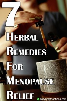 When the big dreaded menopause hits, it can be a rocky ride. So to get that much needed relief from menopausal symptoms, there are a range of herbal remedies you can try Herbal Remedies For Menopause, Menopause Humor, Menopause Relief, Menopause Symptoms, Herbs For Menopause, Menopause Diet, Health Options, Health Tips, Women's Health