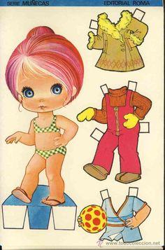 coleccion completa 10 recortables muñecas extra - Comprar Muñecas en todocoleccion - 22633464