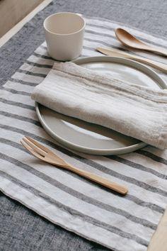 parachute home table linens. / sfgirlbybay