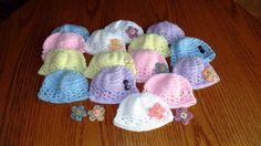 New Born Baby Crochet Hats Baby Crochet Hats Baby by uptowngirlco, $12.00