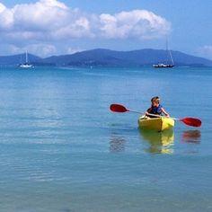 Kayaking at Long Island. Hire Kayaks from Whitsunday Escape
