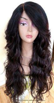 Full lace closure wig