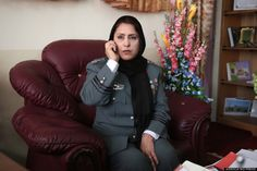 Col. Jamila Bayaz was appointed to run security in the Kabul's District 1 in January, becoming the first woman in such a senior frontline ro...
