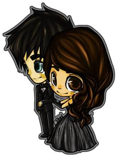 "Damon and Elena ~ ""It would be rude not to dance, you know. Cartoon Pics, Cartoon Drawings, Anime Boy Sketch, Beautiful Love Stories, Vampire Diaries The Originals, Anime Fantasy, Kawaii Art, Delena, Nina Dobrev"