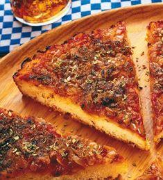 La pizza de mamá #receta #facil
