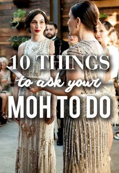 10 Things You Should Ask Your MOH To Do!
