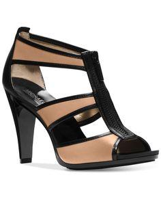 Michael Michael Kors Berkley T-Strap Evening Sandals