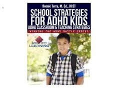 http://www.amazon.com/School-Strategies-Winning-Battle-ebook/dp/B00BJCFN50 School Strategies for ADHD Kids is filled with ADHD Classroom & Teaching Strategies. It is part of the Winning The ADHD Battle Series and is for parents, homeschoolers, and teachers that are looking for practical ways to help their ADHD kids do well in school. It is fille... http://www.youtube.com/watch?v=_HSgFv2JlJ0