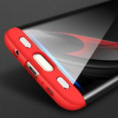 Bakeey™ 3 in 1 Double Dip 360° Full Protection Hard PC Cover Case for Samsung Galaxy S7 Edge Sale - Banggood.com