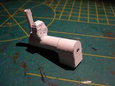 Nieuw project, Fowler B6 crane engine, papier schaal 1 op 87.