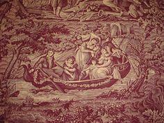 Morgaine Le Fay antique toile.