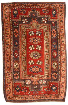 Turkish rug, 19th century from East Anatolia