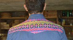 Camisa Jeans + Étnico - Santo Hype