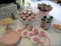 Angelina Ballerina birthday party ideas