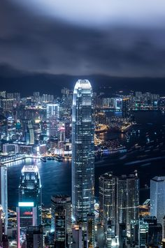 IFC - view from the Peak, HK