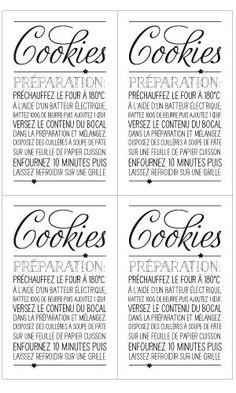 Epatez les gourmands en leur offrant une préparation pour cookies dans un joli bocal. Comment faire ? Disposez en couches successives de la farine, du cacao, du sucre et des pépites de chocolat ...