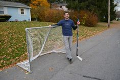 Build a Steel Hockey Goal: Complete DIY Plans
