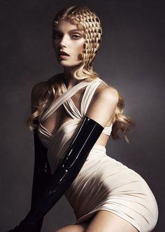 Lisa Muscat авангардная коллекция 2014 — HairTrend.ru