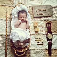 Life In Low Aperture   Newborn   Baby Boy Photos   Baby Announcement   Name, Date, Weight, Time, Length   Perfect little baby boy picture   Fort Worth Burleson Photographer   Newborn Photography