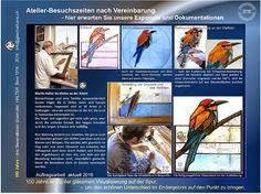Alle Optionen gilt dieser Kunstform /Glasmaler Martin Halter Bern Schweiz