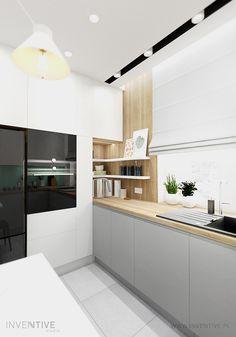 White Kitchen Interior, Modern Kitchen Interiors, Interior Design Kitchen, Interior Modern, Kitchen Dinning, Home Decor Kitchen, Home Kitchens, Kitchen Bar Design, Best Kitchen Designs