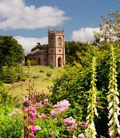 Gardens: how Capability Brown transformed this green and pleasant land (Image is of Brown's design for Croome Court in Worcestershire included resiting the church of St Mary Magdalene. Vita Sackville West, Gaudi, Lancaster, Monet, Landscape Design, Garden Design, St Mary Magdalene Church, Country Life Magazine, Lenotre