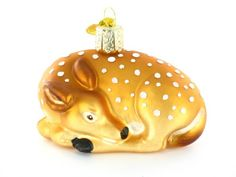 Fawn Ornament Old World Christmas http://www.amazon.com/dp/B000L961ZS/ref=cm_sw_r_pi_dp_4FGzub0N6D4M1